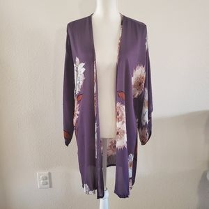 Midnight BakerySunflower Waist Tie Robe